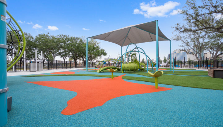 JBL Park Tampa Poured In Place Playground Surfacing 33