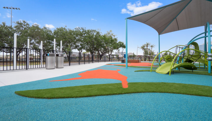 JBL Park Tampa Poured In Place Playground Surfacing 34