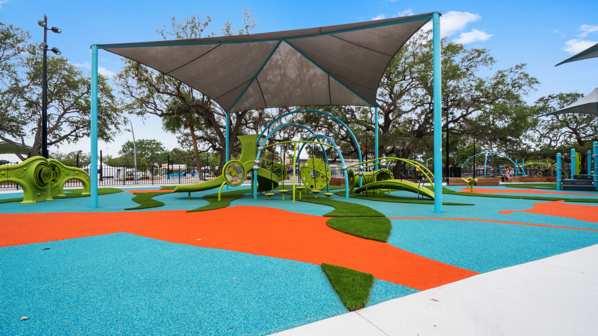 JBL Park Tampa Poured In Place Playground Surfacing 35