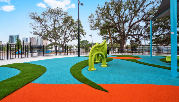 JBL Park Tampa Poured In Place Playground Surfacing 36