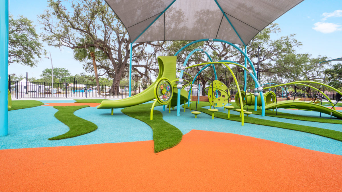 JBL Park Tampa Poured In Place Playground Surfacing 37