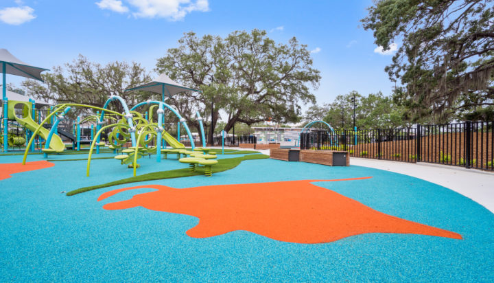 JBL Park Tampa Poured In Place Playground Surfacing 4