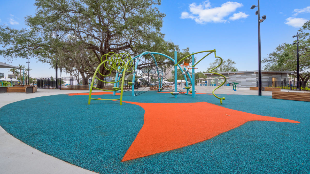 JBL Park Tampa Poured In Place Playground Surfacing 6