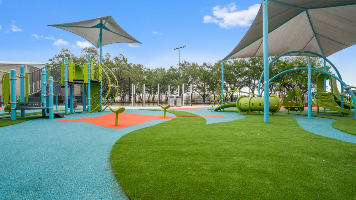JBL Park Tampa Poured In Place Playground Surfacing 7
