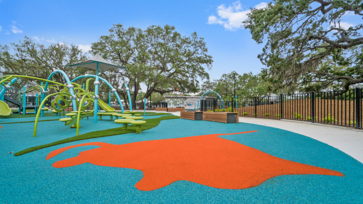JBL Park Tampa Poured In Place Playground Surfacing 8