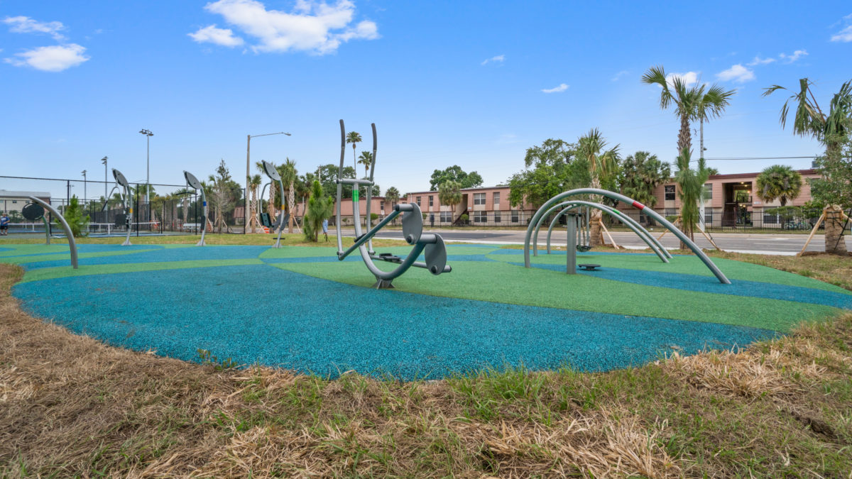 JBL Park Tampa Poured In Place Playground Surfacing 9