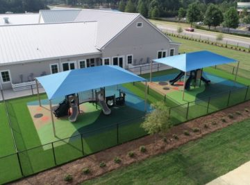 birmingham alabama daycare playground with shades and poured in place rubber safety surfacing 17