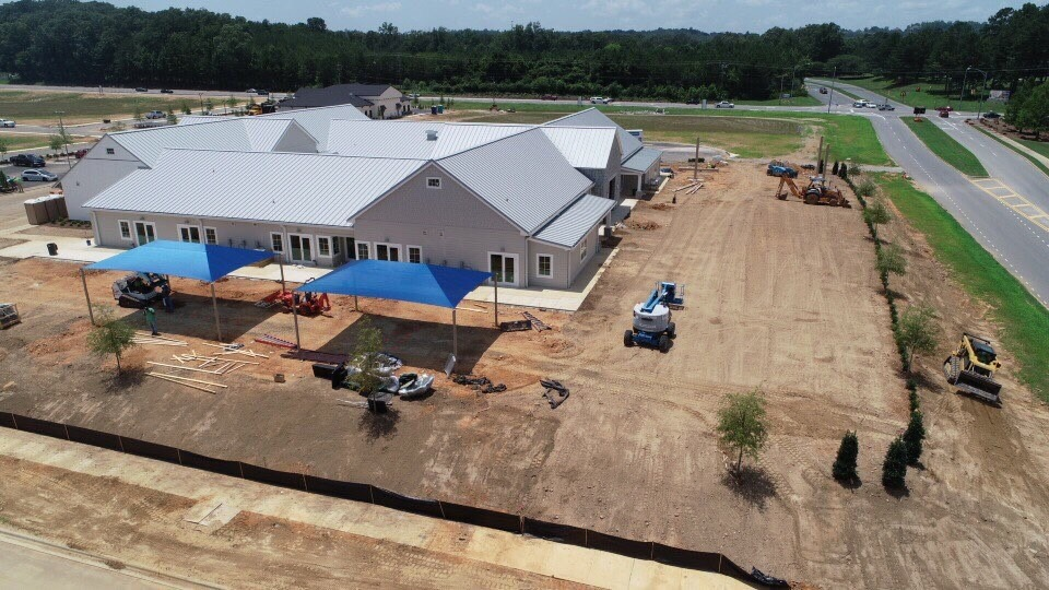 birmingham alabama daycare playground with shades and poured in place rubber safety surfacing 19