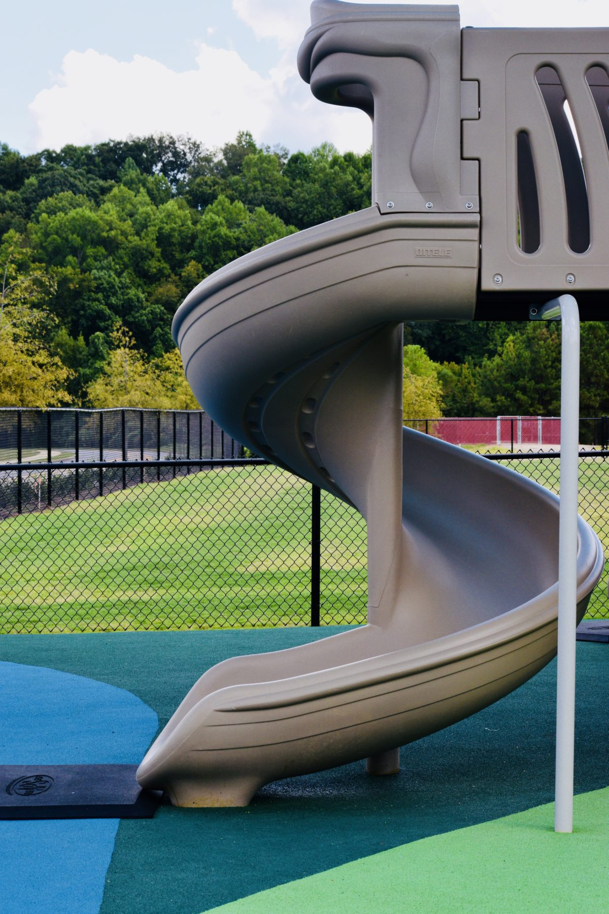 birmingham alabama daycare playground with shades and poured in place rubber safety surfacing 59