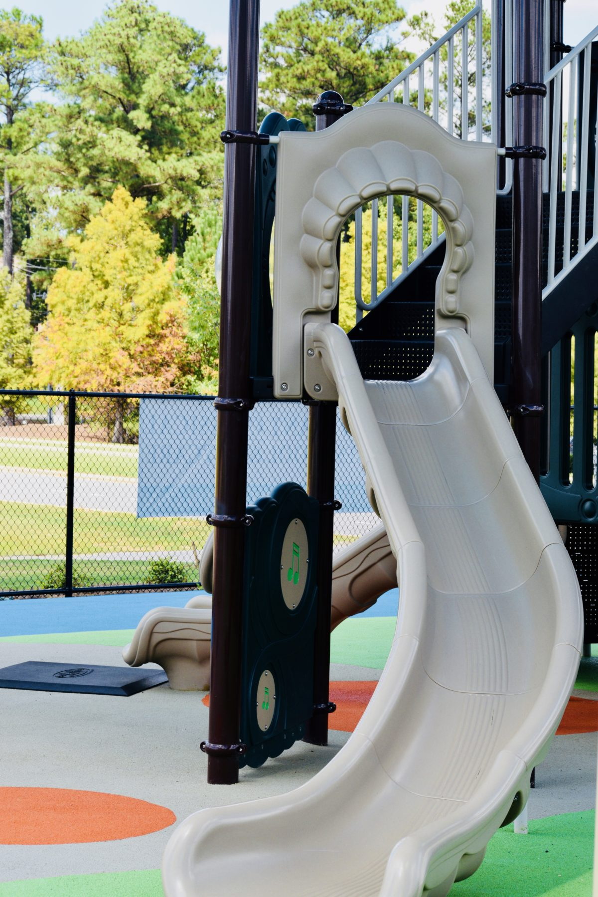 birmingham alabama daycare playground with shades and poured in place rubber safety surfacing 61