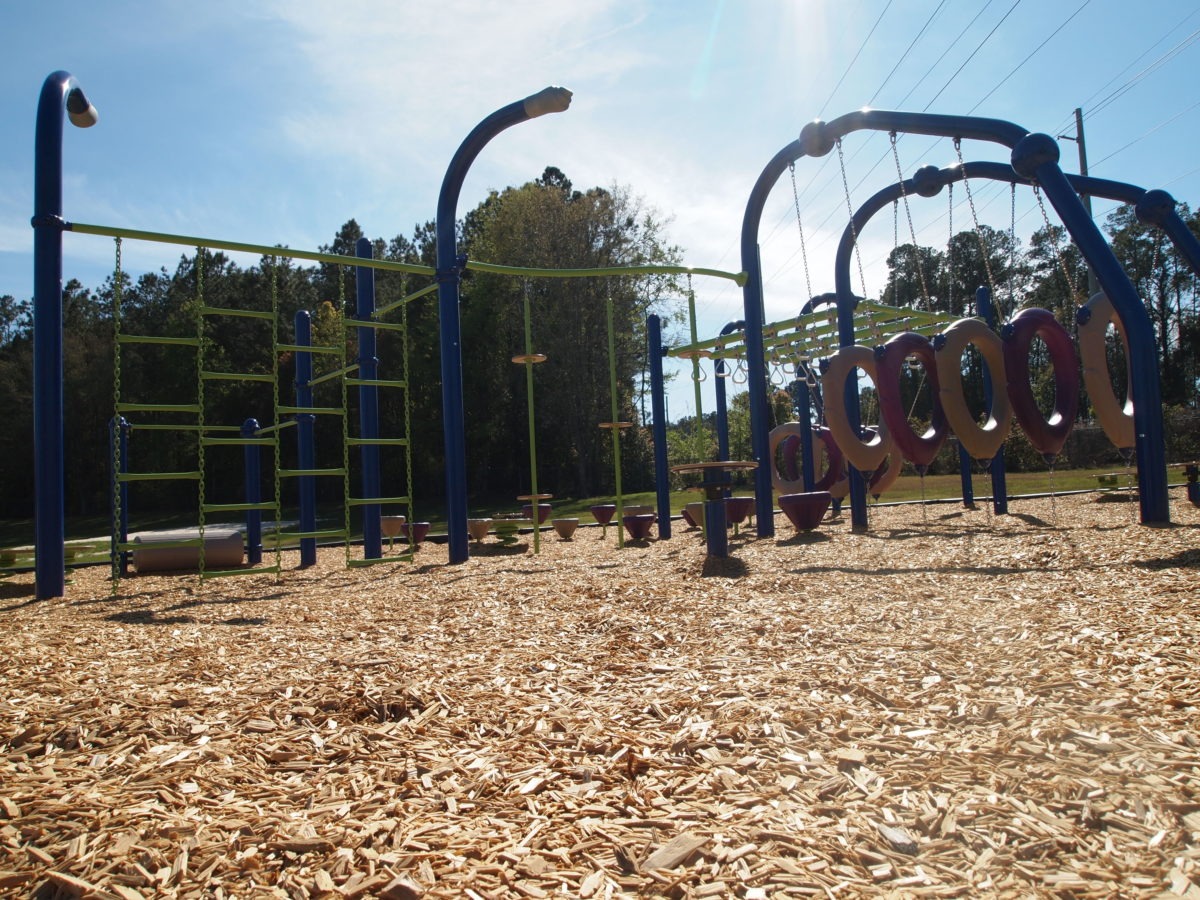 tallahassee elementary school playground with shade covering 10