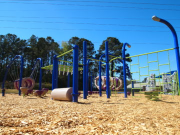 tallahassee elementary school playground with shade covering 11