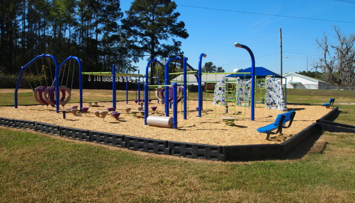 tallahassee elementary school playground with shade covering 12