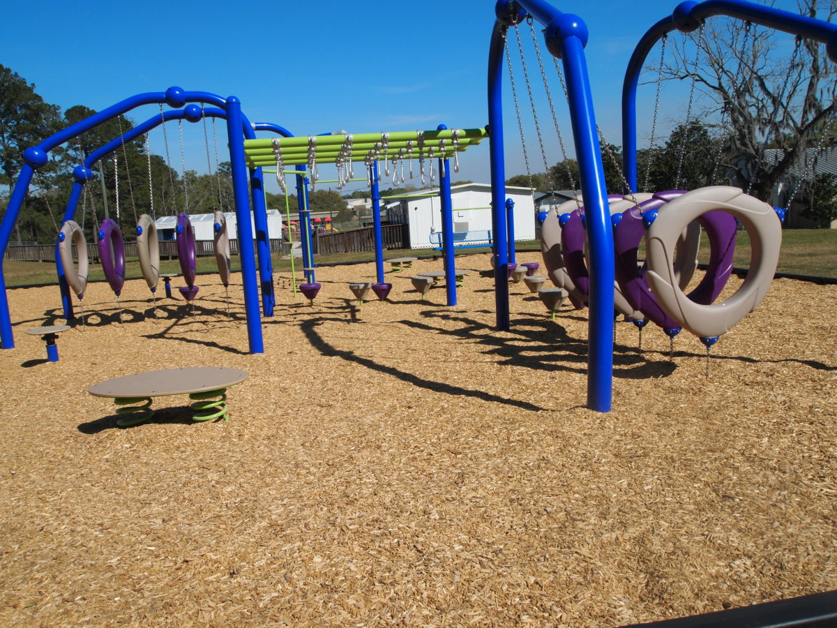 tallahassee elementary school playground with shade covering 16