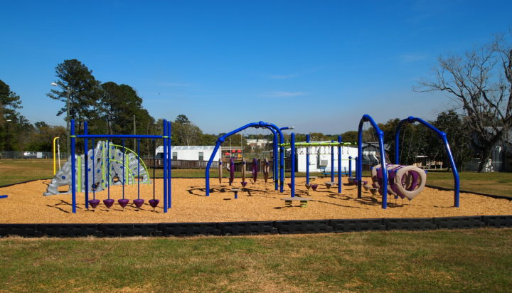 tallahassee elementary school playground with shade covering 17