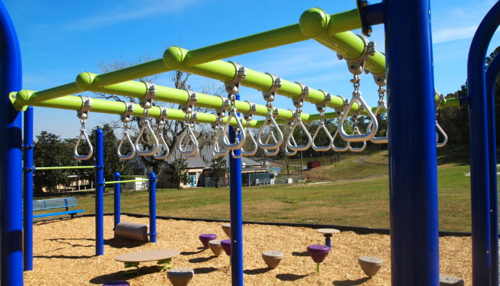 tallahassee elementary school playground with shade covering 20