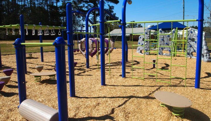 tallahassee elementary school playground with shade covering 22