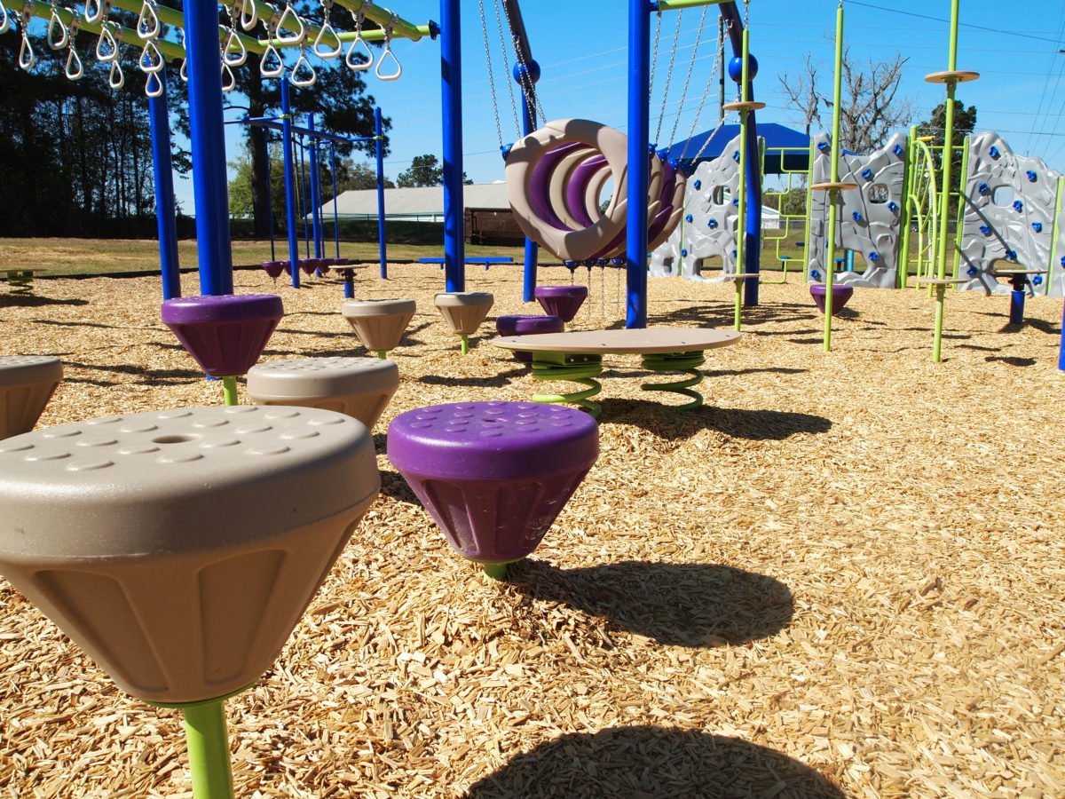 tallahassee elementary school playground with shade covering 24