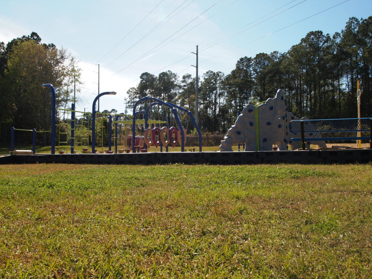 tallahassee elementary school playground with shade covering 31