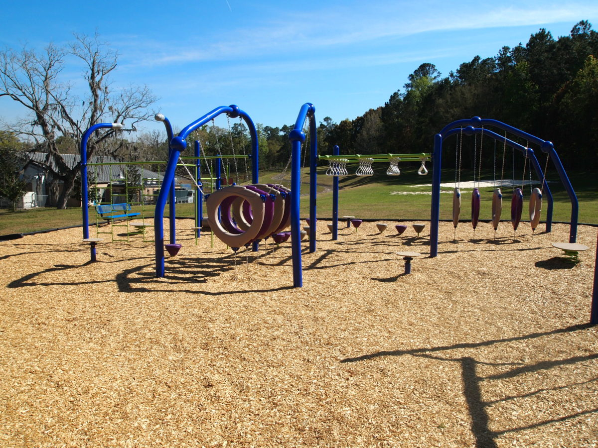 tallahassee elementary school playground with shade covering 6