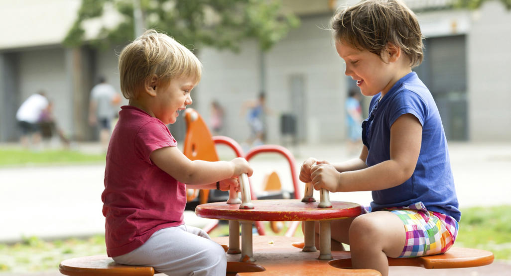 selecting age appropriate playground equipment