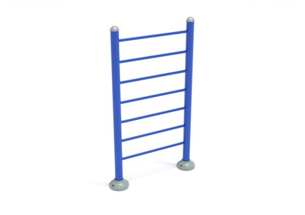 outdoor fitness and exercise equipment single station vertical ladder