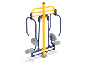 Double Station Chest Press 1