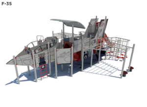 Fighter Jet Themed Playground 1
