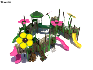 Floral Nature Themed Playground 1