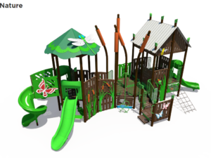 Insects In Nature Themed Playground 3