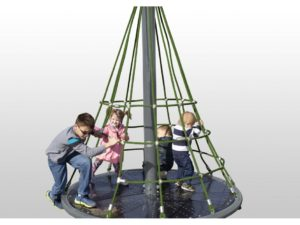 Merry Go Round Net Climber Neutral Rope Playground 1