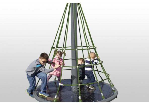 Merry Go Round Net Climber Neutral Rope Playground 1