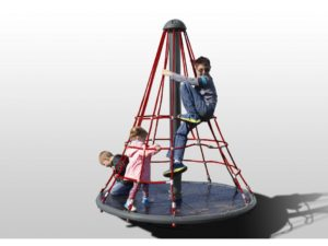 Merry Go Round Net Climber Primary Rope Playground 1