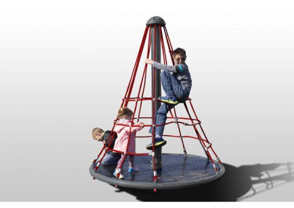 Merry Go Round Net Climber Primary Rope Playground 1