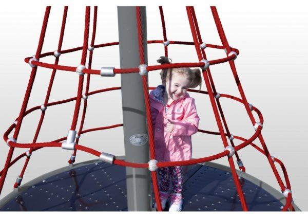 Merry Go Round Net Climber Primary Rope Playground 2