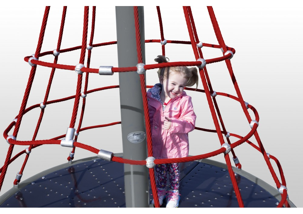 Merry Go Round Net Climber Primary Rope Playground 2
