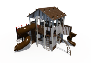 Rail Station Themed Playground 2