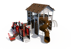 Rail Station Themed Playground 3
