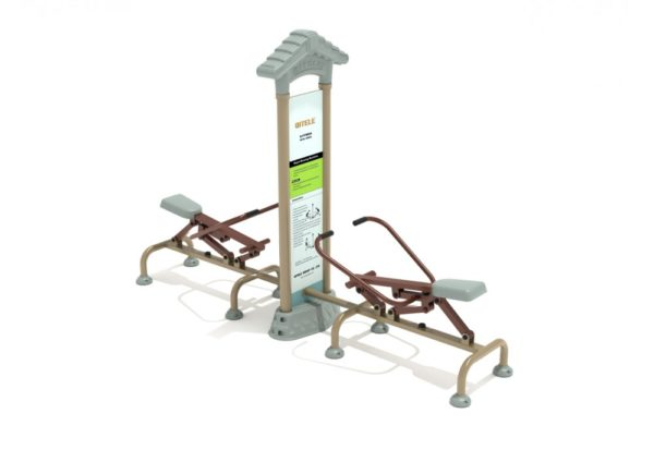Royal Double Station Rower 1