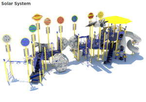 Solar System Themed Playground 3