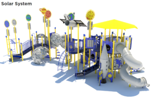 Solar System Themed Playground 4