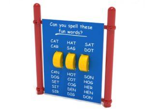 Spelling Panel Playground 1