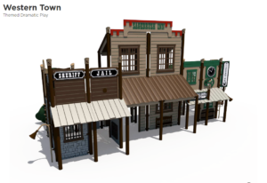 Western Town Themed Playground 1