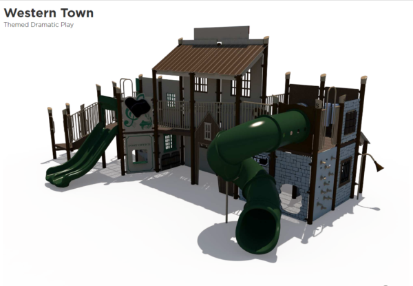 Western Town Themed Playground 2