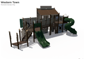 Western Town Themed Playground 3