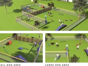 Combination Course Dog Park 1