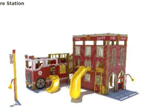 Fire Department Play System 1