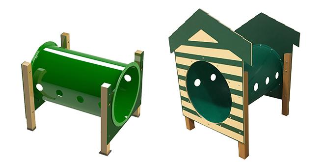 Recycled Crawl Tunnel Dog Park Playground Equipment Pro
