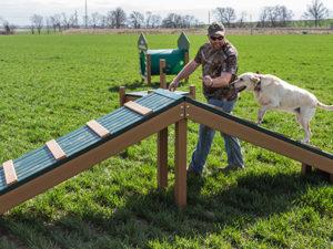 Recycled Hilltop Challenge Dog Park 1