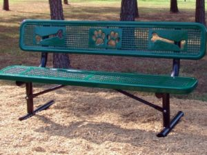 Sit and Stay Bench Dog Park 1